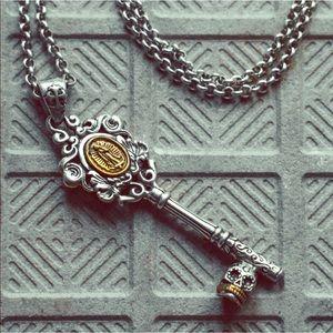 Jewelry - Feminine Dia de los Muertos Key Chain & Pendant